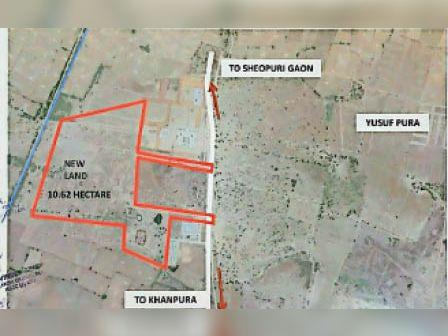 टोंक। मेडिकल कालेज के लिए भूमि का नक्शा। - Dainik Bhaskar
