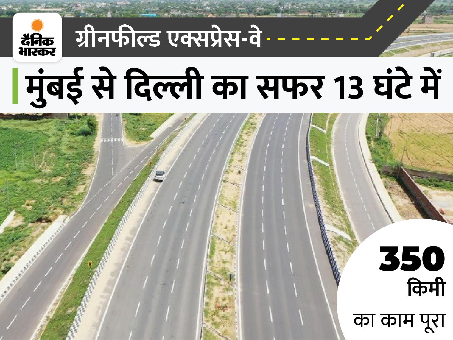 5 राज्यों से गुजरेगा 1350 किलोमीटर लंबा रास्ता, इलेक्ट्रिक व्हीकल के लिए 4 लेन होंगी, 2023 में कंप्लीट होगा प्रोजेक्ट|देश,National - Dainik Bhaskar