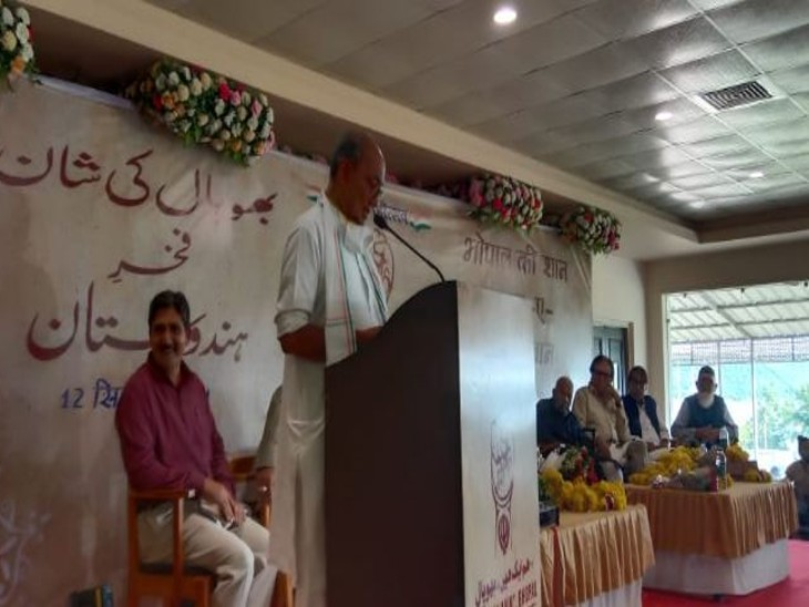 समारोह में दिग्विजय सिंह ने भी किया शिरकत। - Dainik Bhaskar