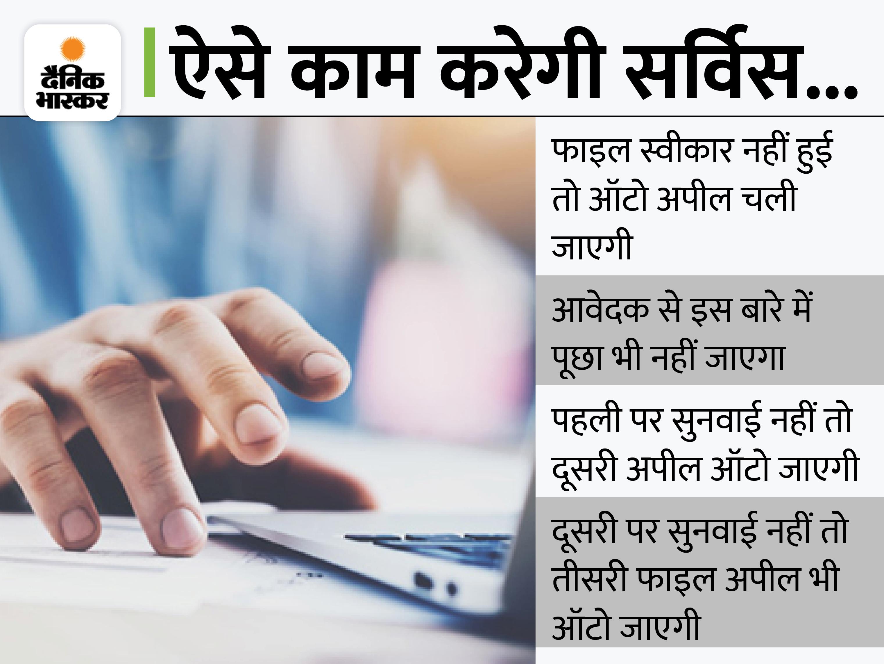 22 विभागों की 465 सेवाओं पर AAS शुरू; निर्धारित समय में फाइल पर एक्शन नहीं तो ऑटो अपील में जाएगी, जुर्माना और कार्रवाई दोनों|करनाल,Karnal - Dainik Bhaskar