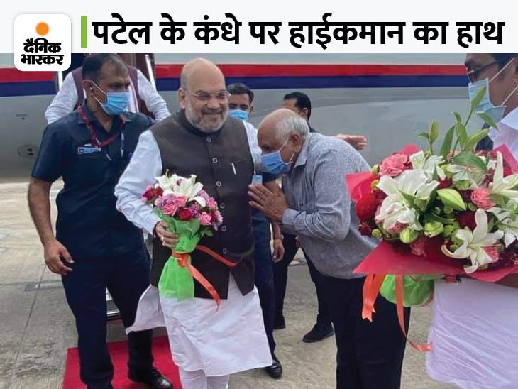 भूपेंद्र पटेल की शपथ के साक्षी बने गृह मंत्री अमित शाह और योगी आदित्यनाथ समेत 5 राज्यों के मुख्यमंत्री|गुजरात,Gujarat - Dainik Bhaskar