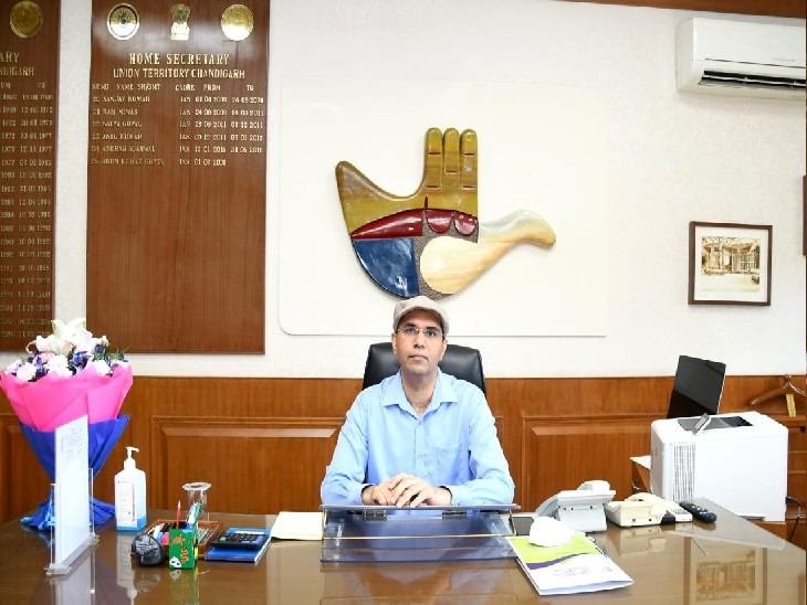 नव नियुक्त गृह सचिव नितिन यादव ने अपना कार्यभार संभाला