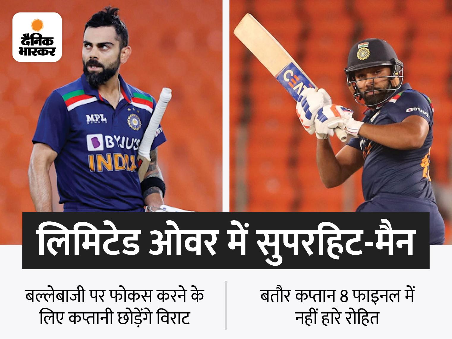 BCCI ने टी-20 वर्ल्ड कप के बाद विराट को हटाए जाने की खबरों से इनकार किया, अधिकारी बोले- उनसे कोई बात नहीं हुई|क्रिकेट,Cricket - Dainik Bhaskar