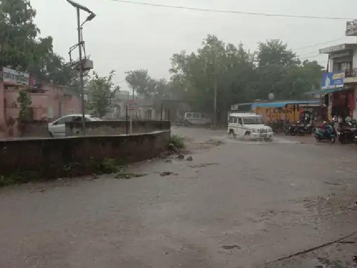 3 जगह बिजली गिरने से दो की मौत; अगले 3 दिन उदयपुर, कोटा, भरतपुर और जोधपुर संभाग में भारी बारिश का अलर्ट|जयपुर,Jaipur - Dainik Bhaskar