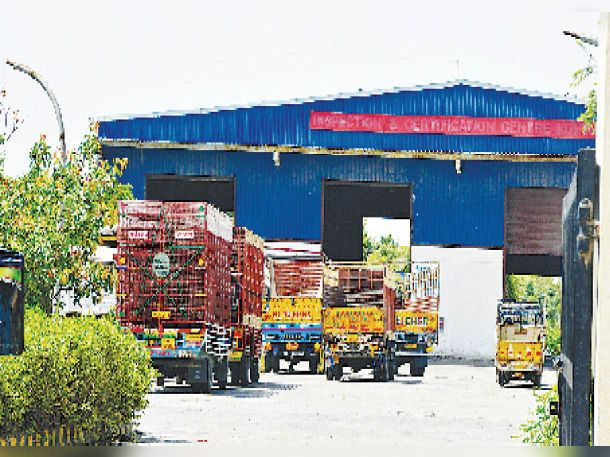 अभी आरटीए का एकमात्र पासिंग सेंटर होने से वाहनों की भीड़ रहती है। फाइल फोटो - Dainik Bhaskar
