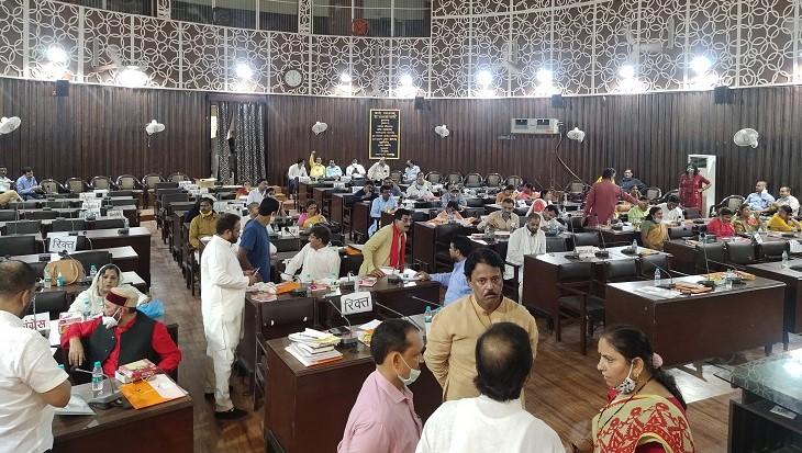 नगर निगम सदन कार्यवाही की फाइल फोटो। - Dainik Bhaskar