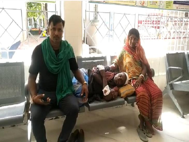 घात लगाए बैठे बदमाशों ने दिया घटना को अंजाम, पीट-पीटकर गंभीर रुर से किया घायल बेगूसराय,Begusarai - Dainik Bhaskar