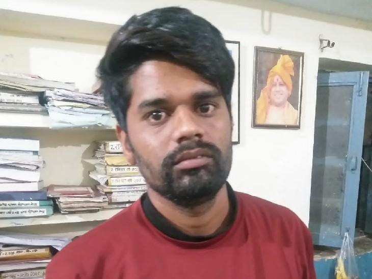 फरारी के दौरान आरोपी ने नया मोबाइल और सिम खरीदी, रिश्तेदार को फोन लगाया तो ट्रेस हुई लोकेशन, मेरठ के सिविल लाइन क्षेत्र में दबिश देकर दबोचा|सागर,Sagar - Dainik Bhaskar