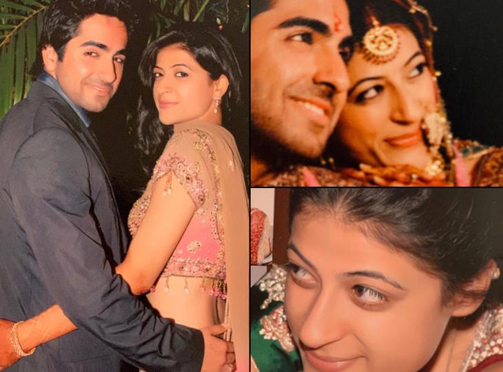 ताहिरा को अपनी लाइफ की पहली और आखिरी लड़की मानते हैं आयुष्मान खुराना, शादी के वक्त बैंक अकाउंट में थे केवल 10 हजार रुपये|बॉलीवुड,Bollywood - Dainik Bhaskar