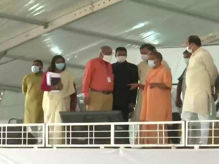 सीएम योगी आदित्यनाथ ने 2 बार अलीगढ़ पहुंचकर तैयारियों का जायजा लिया।