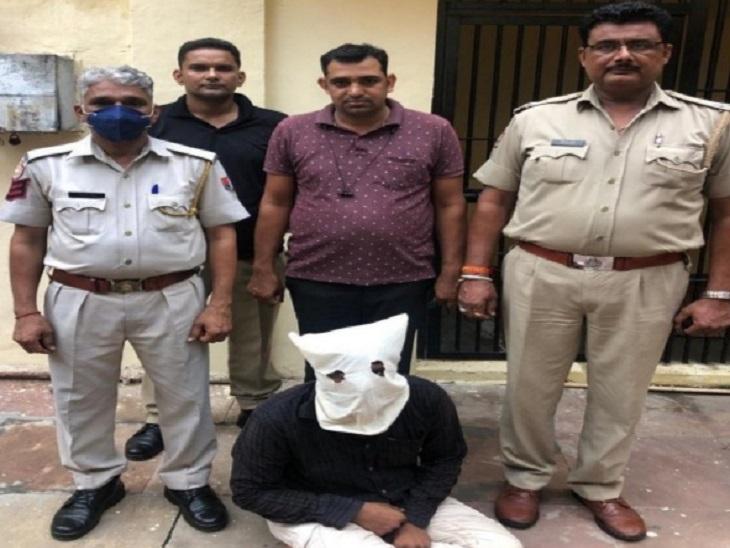 राजनेताओंऔर अधिकारियों की आवाज निकालकर व्यापारियों से करोड़ोंठगे, 100 से ज्यादा लोगों को बना चुका शिकार|जयपुर,Jaipur - Dainik Bhaskar