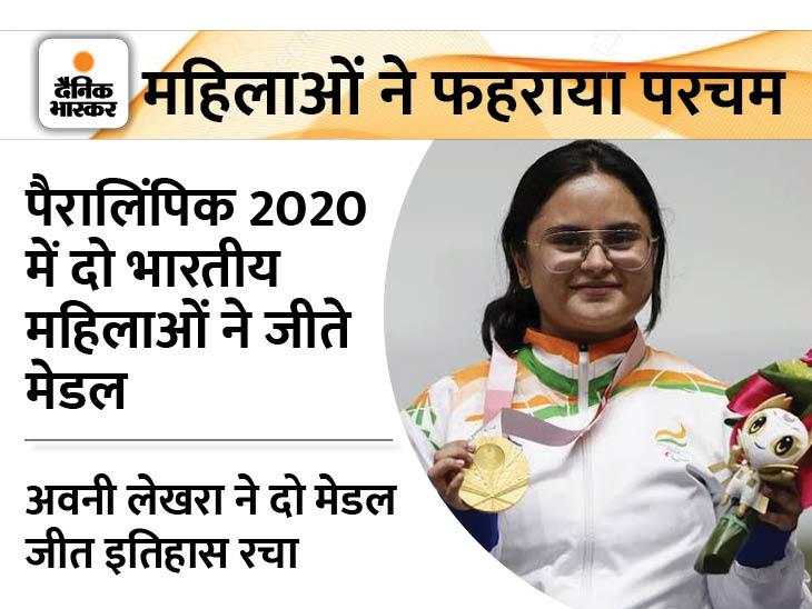 खेलों में महिलाओं का जमने लगा � - Dainik Bhaskar