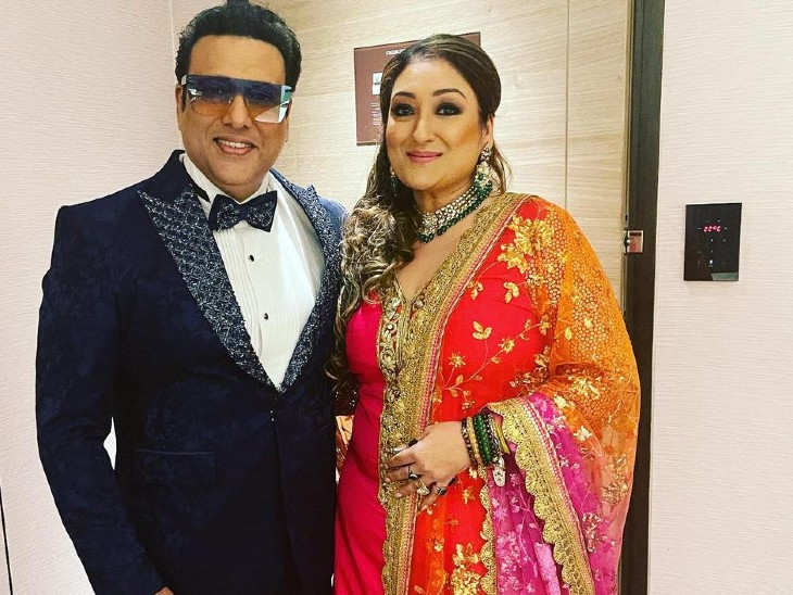 गोविंदा अपनी पत्नी सुनीता आहूजा की लिपस्टिक का शेड नहीं बता पाने पर बोले-मुझे लिपस्टिक से नहीं उसके होंठों से मतलब है|बॉलीवुड,Entertainment - Dainik Bhaskar
