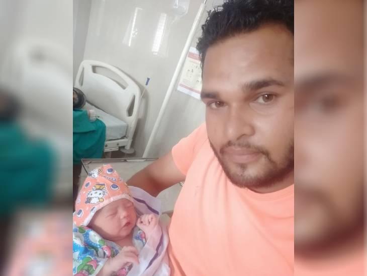 बेटी के साथ अंचल गुप्ता।