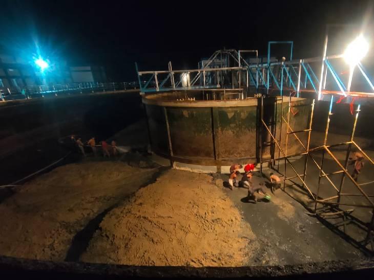 वाटर पंप हाउस में फिल्टर प्लांट और टैंक की सफाई, सुधार भी बाकी; दोपहर में काम पूरा तो शाम को कुछ इलाकों में हो सकती है सप्लाई|भोपाल,Bhopal - Dainik Bhaskar