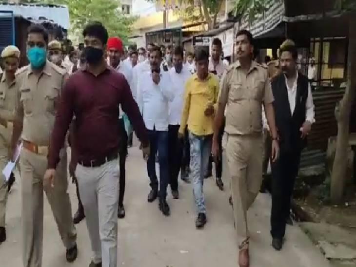कोर्ट के स्टे के बाद भी गिरवा दिया था निर्माण, अवमानना के मामले में कोतवाल को तीन दिन और नायब तहसीलदार को एक महीने की सजा|बाराबंकी,Barabanki - Dainik Bhaskar