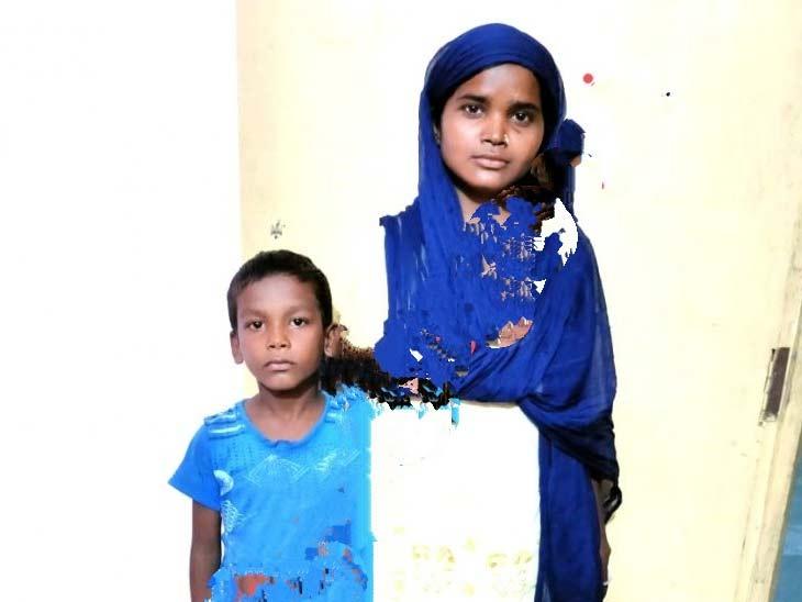 अपने बच्चे के साथ खुशबुन निशा। - Dainik Bhaskar