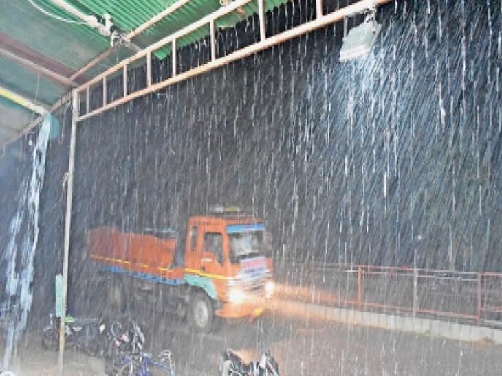 हिसार-तोशाम रोड - Dainik Bhaskar