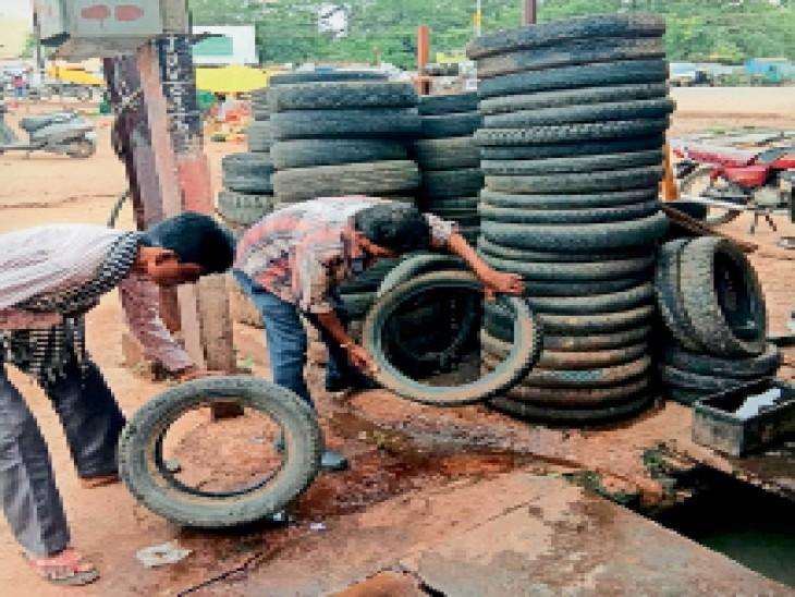 रोकथाम के लिए खुर्सीपार क्षेत्र में मुहिम शुरू कर दी गई है। - Dainik Bhaskar