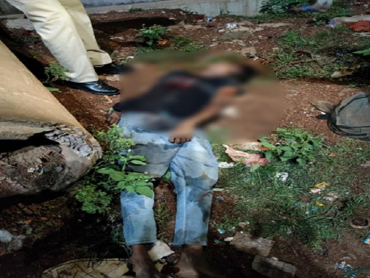 आरोपी ने भाई के साथ हुई मारपीट का बदला लेने युवक को उतारा मौत के घाट, वारदात को अंजम देकर भाग गया था; अब पकड़ा गया|छत्तीसगढ़,Chhattisgarh - Dainik Bhaskar