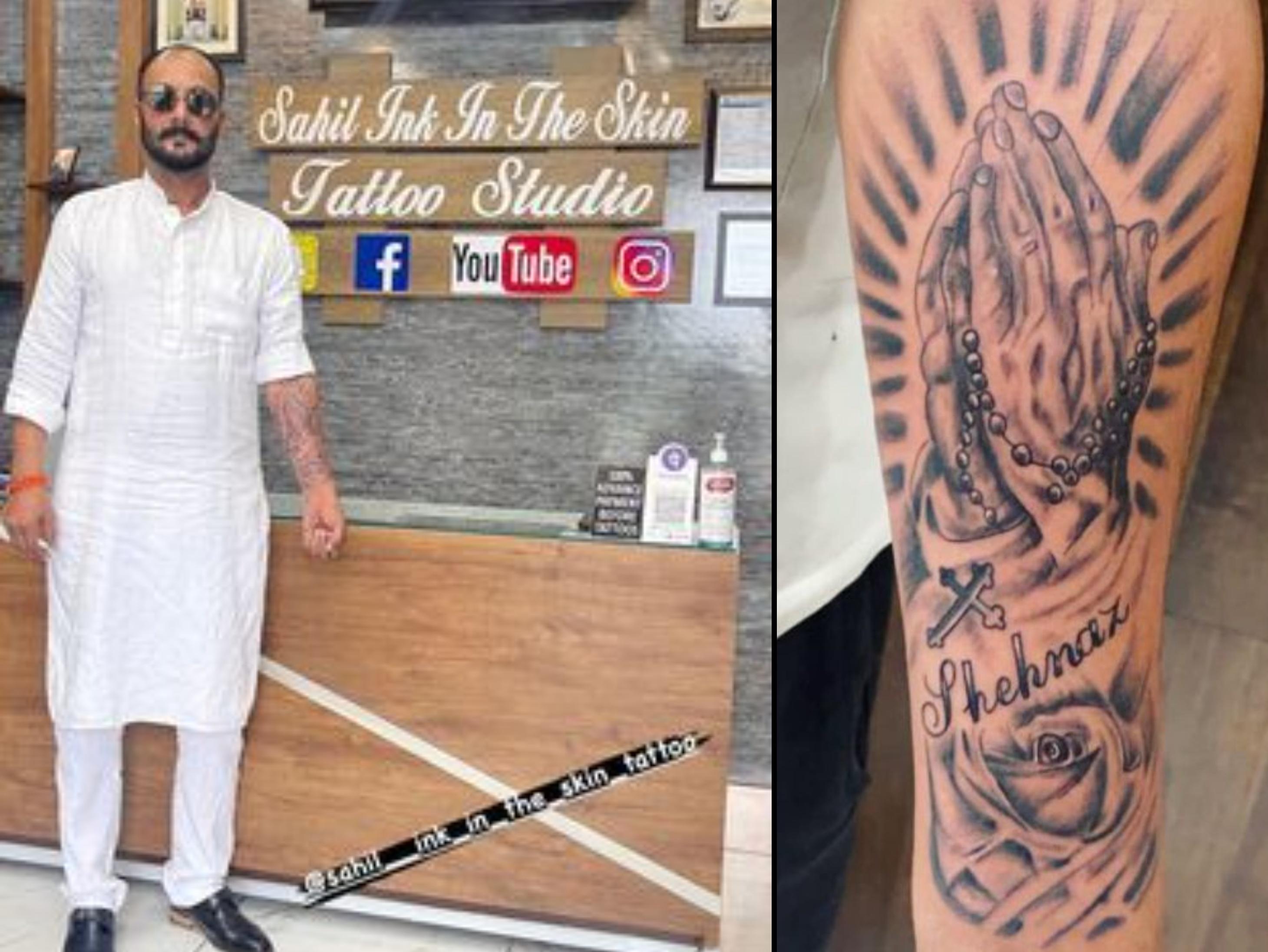सिद्धार्थ शुक्ला के गम में डूबी शहनाज को अच्छा लगे इसलिए पिता संतोख ने हाथ पर लिखवाया बेटी का नाम बॉलीवुड,Bollywood - Dainik Bhaskar