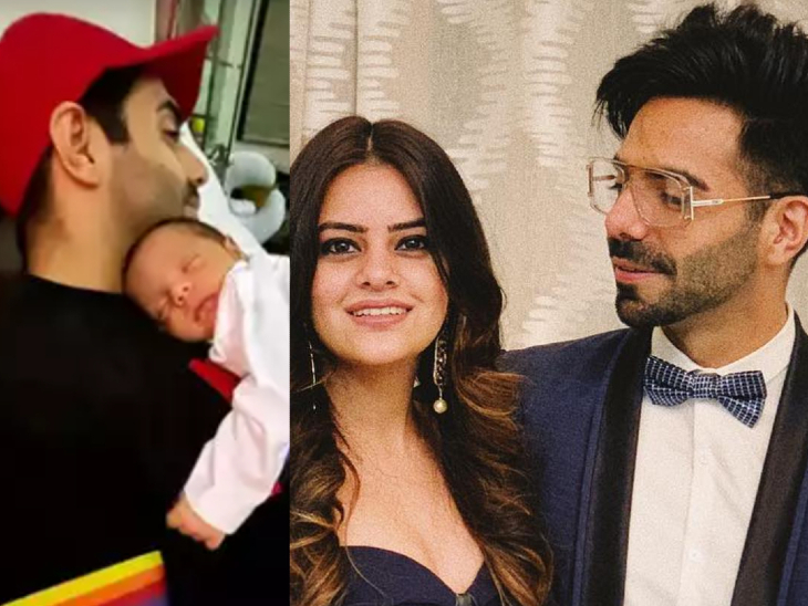 आयुष्मान खुराना ने फैन्स को दिखाई भतीजी की पहली झलक, पिता अपारशक्ति खुराना की गोद में सोती हुई नजर आईं आरजोई|बॉलीवुड,Bollywood - Dainik Bhaskar