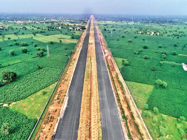 1350 किमी लंबा ग्रीन फील्ड एक्सप्रेस-वे 5 राज्यों से गुजरेगा, हर 50 किमी पर होगा चार्जिंग पॉइंट; जनवरी 2023 में कंप्लीट होगा प्रोजेक्ट|देश,National - Dainik Bhaskar