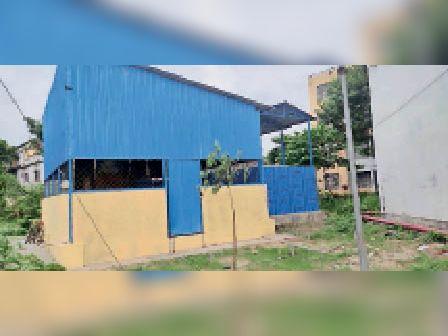 सदर अस्पताल में बनाया गया ऑक्सीजन प्लांट। - Dainik Bhaskar