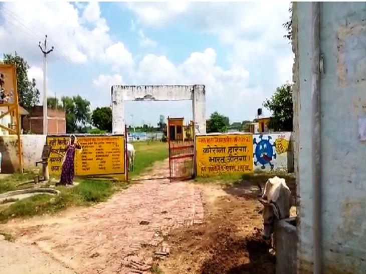 कुरसौलीगांव के सबसे बुरे हालात, स्वास्थ्य विभाग की टीम गांव के अंदर नहीं आती, गाँव छोड़ कर भाग रहे ग्रामीण|कानपुर,Kanpur - Dainik Bhaskar