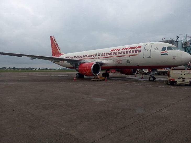 रायपुर से दिल्ली जा रहा था प्लेन, टेकऑफ करते समय पक्षी टकराया; केंद्रीय मंत्री रेणुका सिंह भी सवार थी, सभी 179 यात्रियों को दूसरे प्लेन से भेजा गया|रायपुर,Raipur - Dainik Bhaskar