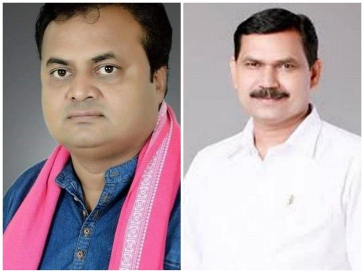 बलौदाबाजार से JCCJ विधायक प्रमोदशर्मा और BJP जिलाध्यक्ष व पूर्व विधायक डॉ. सनम जांगड़े सहित उनके साथियों पर शासकीय कार्य में बाधा डालने का मामला दर्ज किया गया है। - Dainik Bhaskar