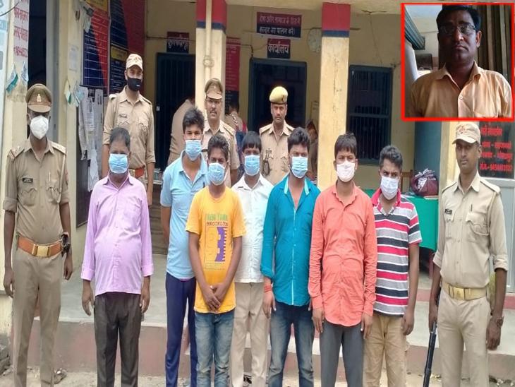 गोरखपुर में पट्टीदारों ने लाठी- डंडे से पीटकर की थी बेरहमी से हत्या, बीच- बचाव करने गए साले और बेटे को भी पीटे थे मनबढ़|गोरखपुर,Gorakhpur - Dainik Bhaskar