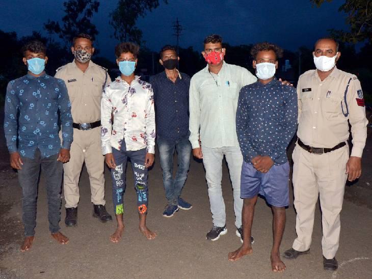 हनुमान मंदिर में सेवा देने वाले बाबा की हत्या के चारों आरोपी गिरफ्तार|धार,Dhar - Dainik Bhaskar