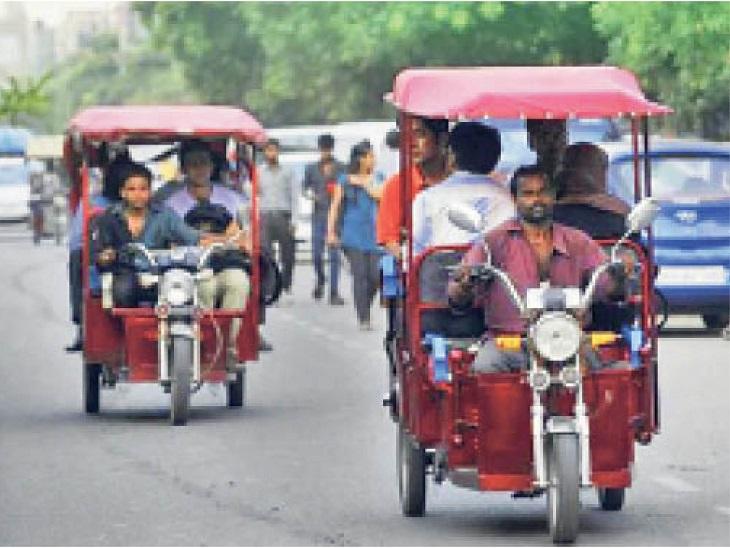 पति की मौत के बाद एक-एक रुपए जोड़ कर मकान खरीदने के लिए जमा किए थे, बेटे-बेटी के साथ एडवांस देने जा रही थी, ई-रिक्शे पर दो महिला ठगों ने चुराए|राजस्थान,Rajasthan - Dainik Bhaskar