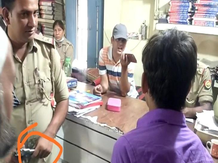 मानसिक रोग का बीमार निकाला युवक, थाने में पुलिस ने खिलौने वाली पिस्तौल की बरामद की थी सहारनपुर,Saharanpur - Dainik Bhaskar