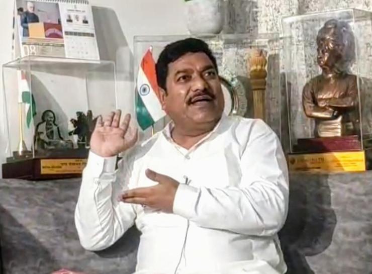 चाकसू से कांग्रेस विधायक वेदप्रकाश सोलंकी ने खुद को हनीट्रेप में फंसाने के आरोप लगाए - Dainik Bhaskar