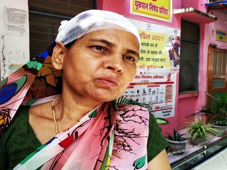 वाराणसी में महिला पर रॉड से बदमाशों ने किया वार, लूट ले गए रुपए और गहने; पुलिस ने दर्ज की एनसीआर|वाराणसी,Varanasi - Dainik Bhaskar