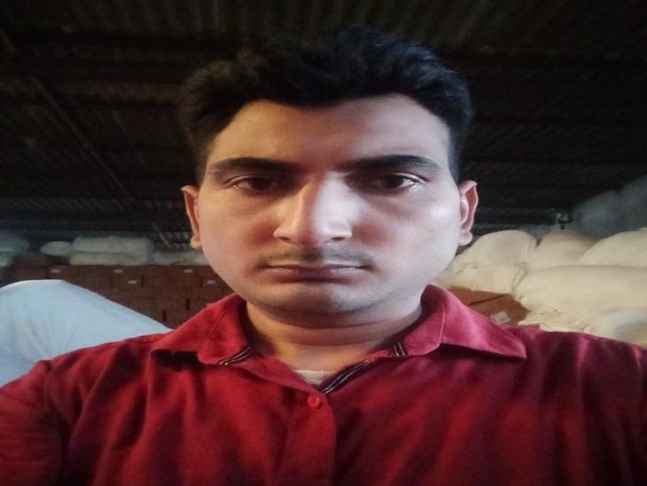 ठगी का शिकार अनुराग कुमार। - Dainik Bhaskar