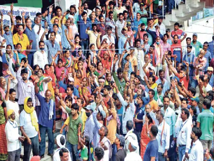 हड़ताल को समाप्त करने का अधिकारिक बयान हड़ताली कर्मचारी के प्रतिनिधि द्वारा ही जारी किया जाता है। (फाइल फाेटो) - Dainik Bhaskar