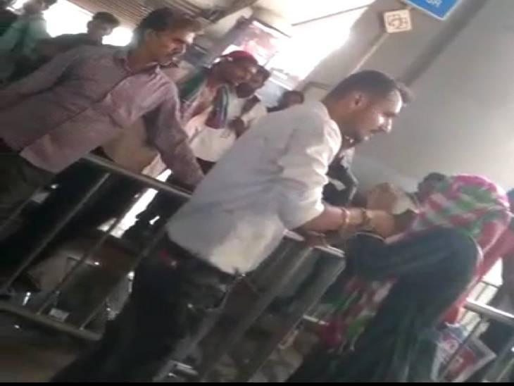 लखनऊ चारबाग मेट्रो स्टेशन के बाहर युवती को पीटते हुए वीडियो हुआ वायरल, नाका पुलिस ने आरोपी को पकड़ा|लखनऊ,Lucknow - Dainik Bhaskar