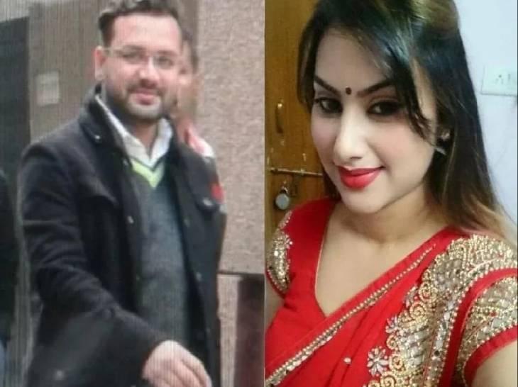 लखनऊ से दिल्ली आते समय फिरोजाबाद में दुर्घटनाग्रस्त हुई थी कार, विधायक अमनमणि त्रिपाठी को नहीं आई खरोंच; पत्नी की हो गई थी मौत|गाजियाबाद,Ghaziabad - Dainik Bhaskar