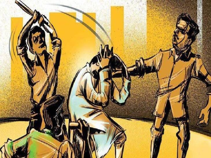 प्लाट पर कब्जा को लेकर हुआ था विवाद, बंथरा थाने अधिवक्ताओं के साथ शिकायत लेकर पहुंचे थे दोनों पक्ष|लखनऊ,Lucknow - Dainik Bhaskar