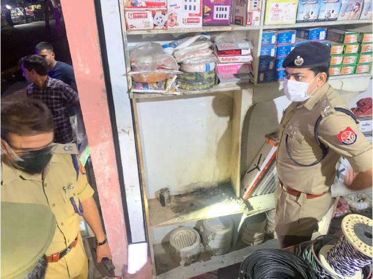 शामली एसपी व एएसपी ने भी पहुंचकर घटनास्थल पर छानबीन की।