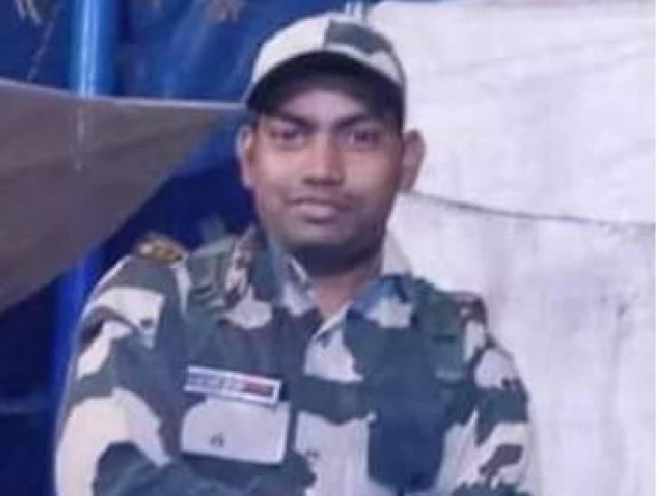 रक्षाबंधन पर आए थे घर, 12 दिन पहले ज्वॉइन की थी ड्यूटी, जम्मू में थे तैनात|अमेठी,Amethi - Dainik Bhaskar