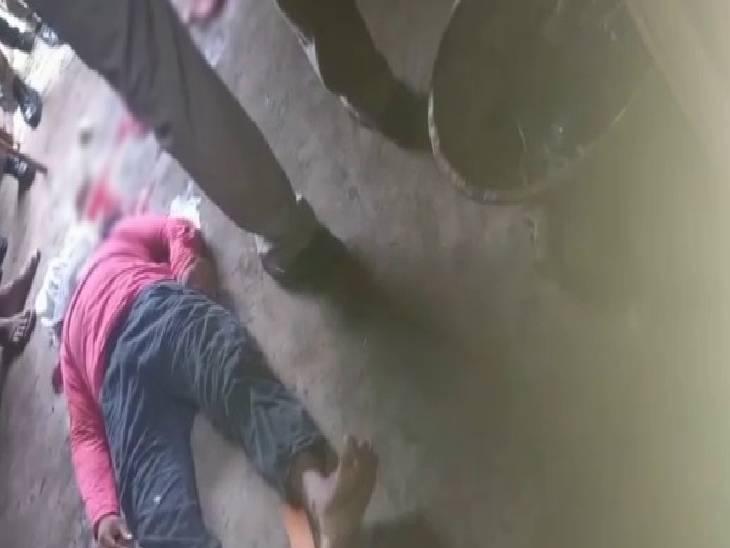 गुड़ कोल्हू मालिक की गोली मारकर हत्या। - Dainik Bhaskar