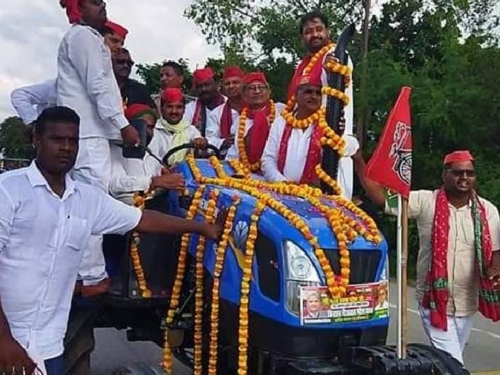 संत कबीर नगर में सपा की चुनावी � - Dainik Bhaskar
