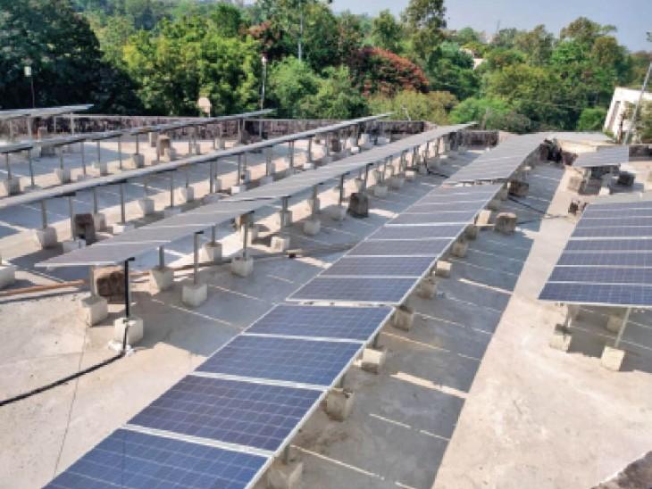 घरों और दफ्तरों की छतों पर बिजली की खेती; देश की टॉप-5 सिटी में भोपाल, मध्यप्रदेश का इकलौता शहर|भोपाल,Bhopal - Dainik Bhaskar