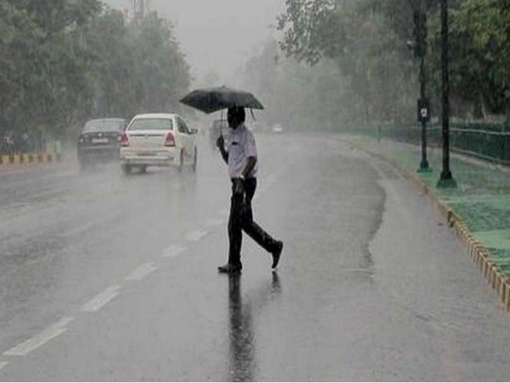 बारिश की वजह से रांची के तापमान में 5 डिग्री की गिरावट, अगले चार दिन बारिश-वज्रपात के आसार रांची,Ranchi - Dainik Bhaskar