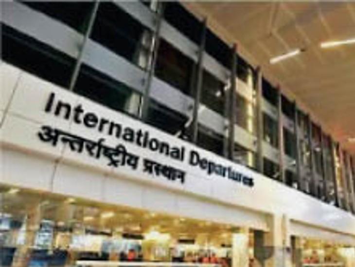 आतंकी हमले के बाद आईजीआई एयरपोर्ट पर सुरक्षा के इंतजाम चुस्त|दिल्ली + एनसीआर,Delhi + NCR - Dainik Bhaskar