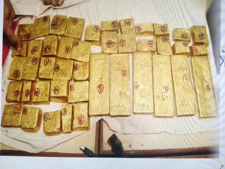 जमा कराते समय कीमत सिर्फ 5 लाख और वजन 56.863, आधी रात कड़ी सुरक्षा के बीच CGST टीम लेकर हुई रवाना, तीन किलो 200 ग्राम अब भी जमा|उदयपुर,Udaipur - Dainik Bhaskar